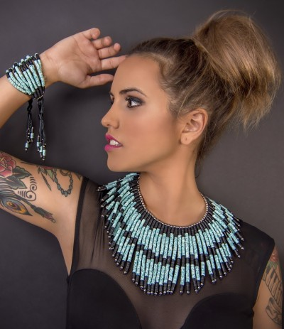 INSOLENCE - TURQUOISE  (Necklace) (Exclusive)