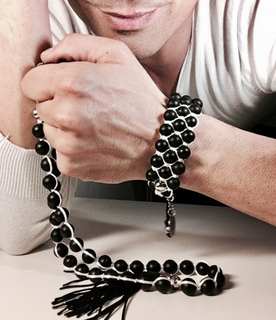 DISCOVER BLACK-WHITE (Bracelet)