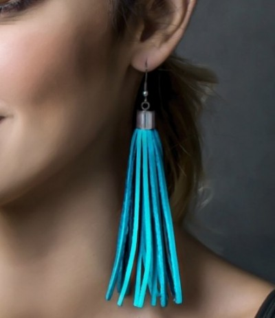 SHARON-TURQUOIS (Earrings)