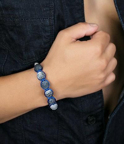 BLUE SPIRIT (PULSERA SHAMBALLA)