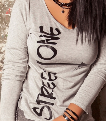 STREET ONE  T-SHIRT (Chica gris)