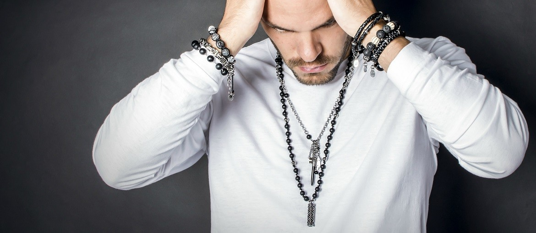 Men necklaces Urban Shock